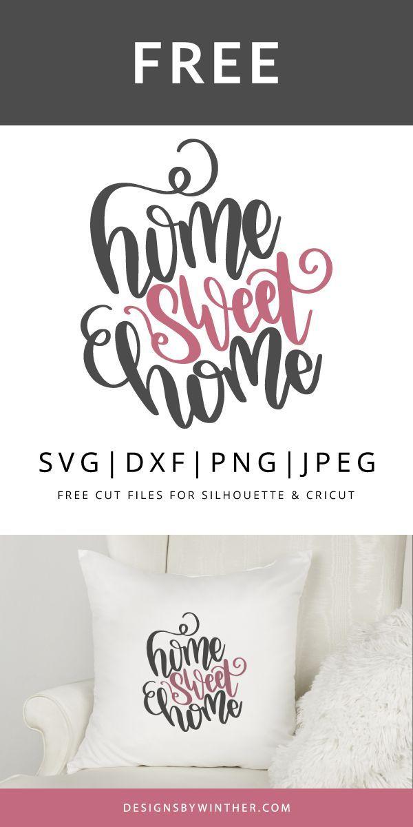 25 + › Zuhause süße Heimat SVG DXF PNG & JPEG