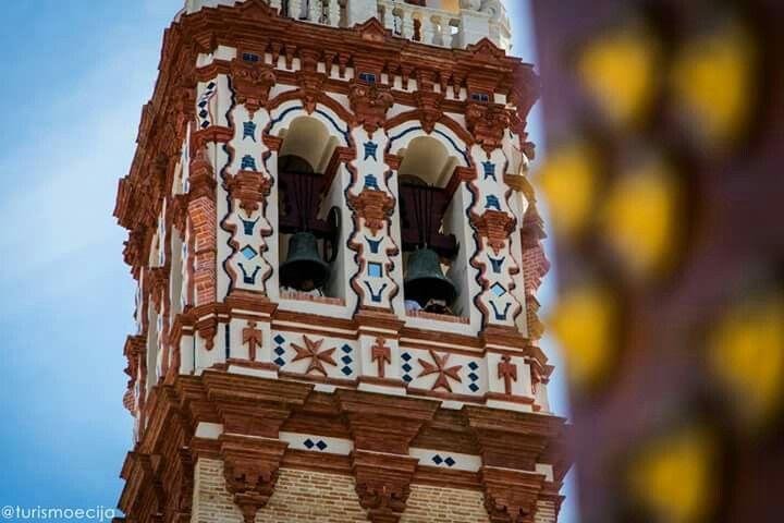 Detalle de la torre de la Iglesia de San Juan de #Écija.