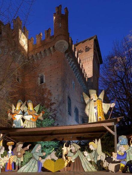 Luzzati's Nativity scene at Borgo Medioevale (Turin, Italy) by Alessandro Ugazio https://www.360cities.net/image/borgo-medioevale-nativity-scene-turin-italy#708.31,-14.74,81.0