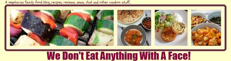 We Don't Eat Anything With A Face: Two week vegetarian family meal planner