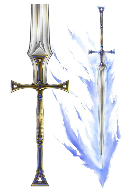 Epic Paladins Sword by stonewurks