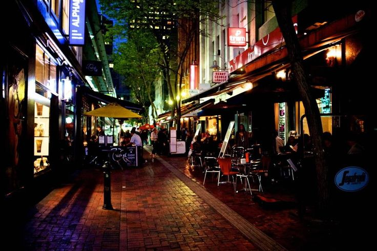 'Hardware Lane', Melbourne, Victoria. Amazing location to stay for a holiday.
