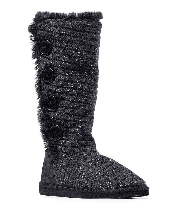 MALENA (BLACK) | MUK LUKS® Boots/Shoes 2015. See more. Look at this Black  Short Speckled Melana Boot - Women on #zulily today!