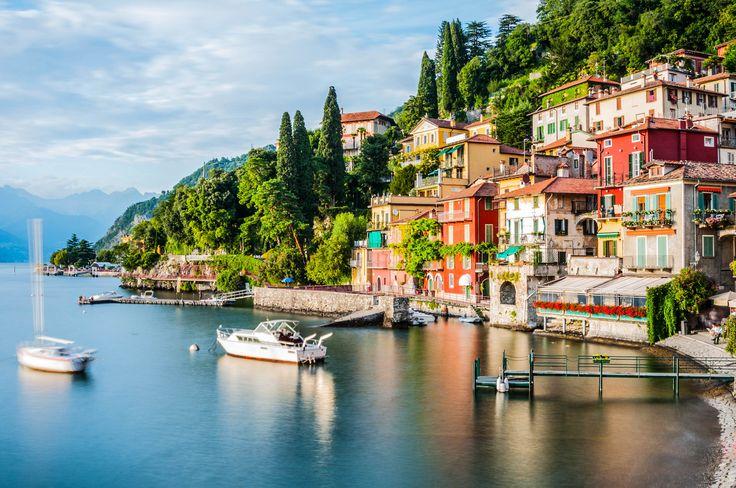 Lake Como Lombardy Italy Italien Urlaub Hotel Italien Und