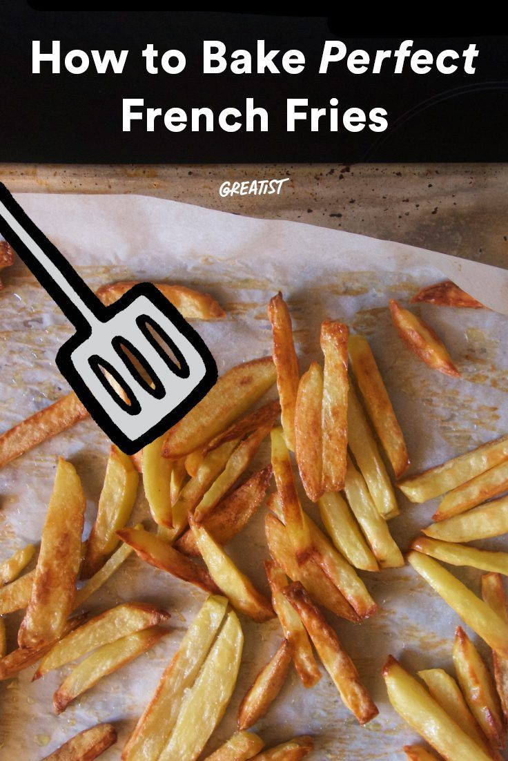 You can finally nail the DIY fry. #greatist http://greatist.com/eat/baked-french-fries-recipe