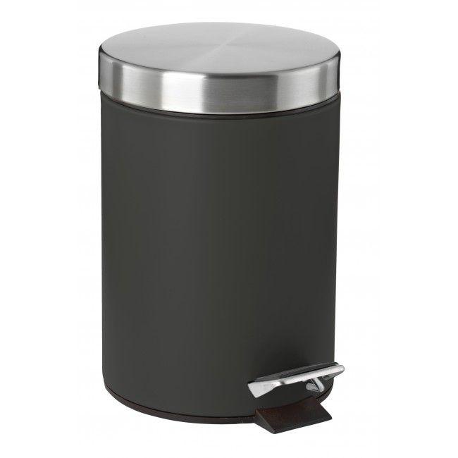 Søppelbøtte med softclose - Sort
