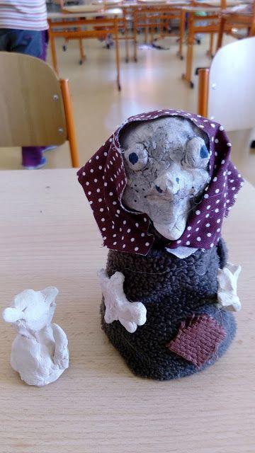 Tvoříme s dětmi  ☺: Čarodějnice keramické