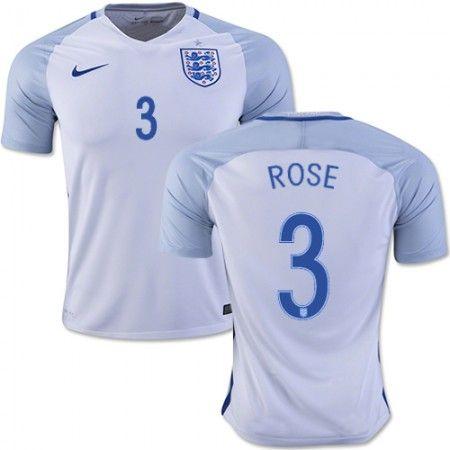 England 2016 Danny Rose 3 Hjemmedrakt Kortermet.  http://www.fotballpanett.com/england-2016-danny-rose-3-hjemmedrakt-kortermet-1.  #fotballdrakter