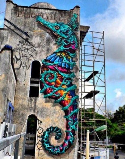 by Farid Rueda in Cancun hip hop instrumentals updated daily => http://www.beatzbylekz.ca...cool mural
