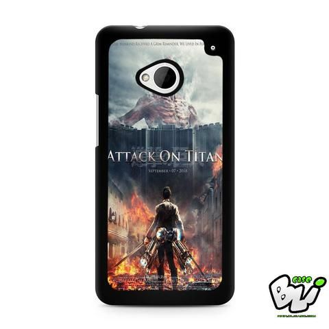 Attack On Titan Cover Movie HTC G21,HTC ONE X,HTC ONE S,HTC M7,M8,M8 Mini,M9,M9 Plus,HTC Desire Case