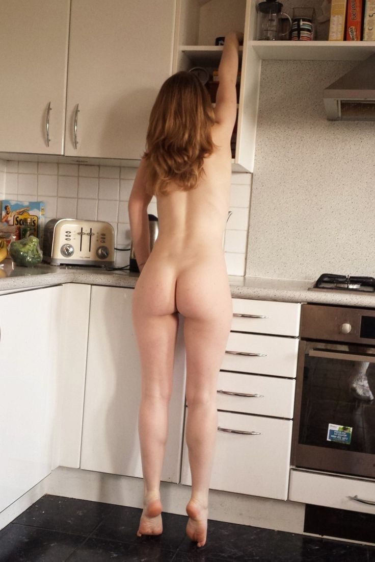 Exclusively your Naked girls having sex in the kitchen