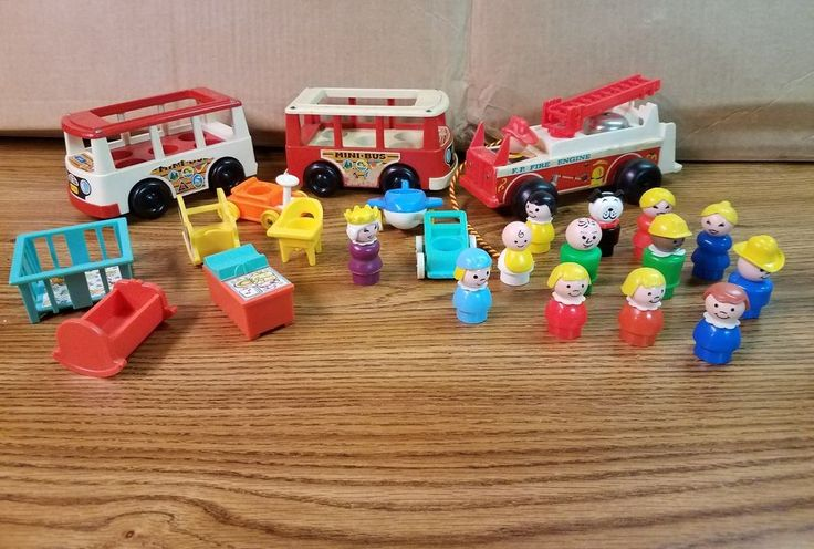 vintage fisher price toys #FisherPrice