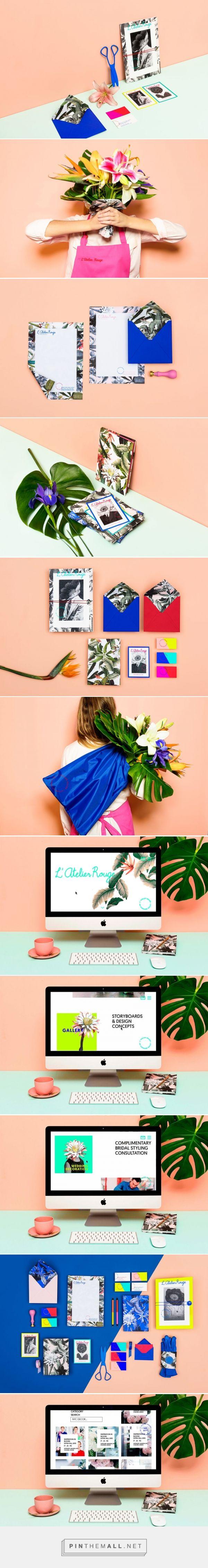 Masquespacio - L'Atelier Rouge Rebranding + Web Design | Trendland - created via https://pinthemall.net