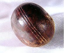 Klerksdorp spheres are small objects, often spherical to disc-shaped, that have been collected by miners and rockhounds from 3-billion-year-old pyrophyllite deposits mined by Wonderstone Ltd., near Ottosdal, South Africa.  Geologists who have studied these objects argue that the objects are not manufactured, but are rather the result of natural processes.