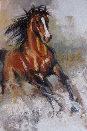 Jache Studio #painting #art #horses