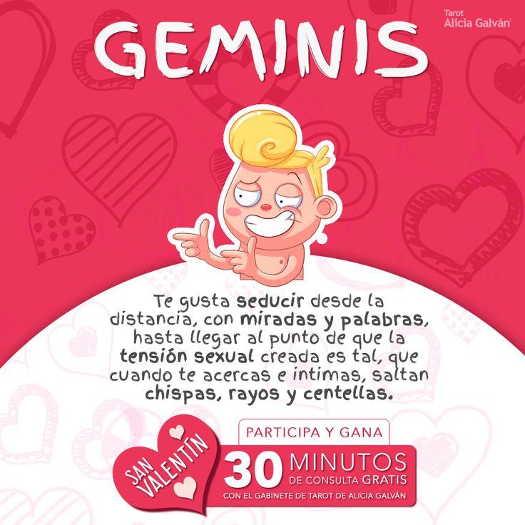 #Géminis ¿quieres una consulta de Tarot gratis? Participa en nuestro Concurso de San Valentin para hacerte con ella. Puedes hacerlo aquí: