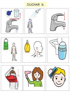 Autismus Pracovní materiál: foto: sprchový kout