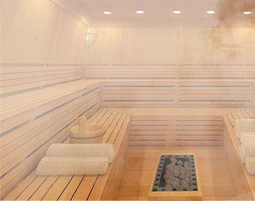 Deutschen Gehören, Die Regelmäßig In Die Sauna