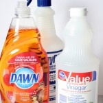 Pinterest Cleaning Tip Tested - DIY Dawn Shower Cleaner