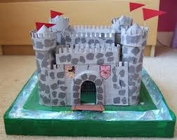 how to make a castle valentine box