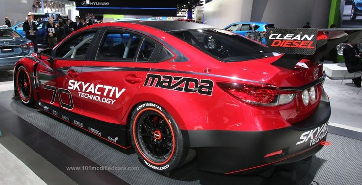 101 Modified Cars - Modified Mazda 6 (3rd generation, GJ)
