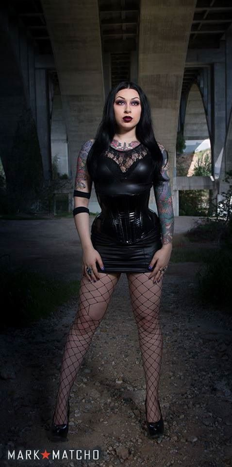 Model: Gh3tto Bla5ter Photo: Mark Matcho Corset: Artifice Clothing Welcome to Gothic and Amazing | www.gothicandamazing.com