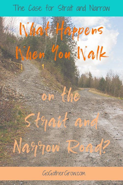 Strait and Narrow Road | Narrow Gate Wide Gate | Eternal Life | Road to Eternal Life