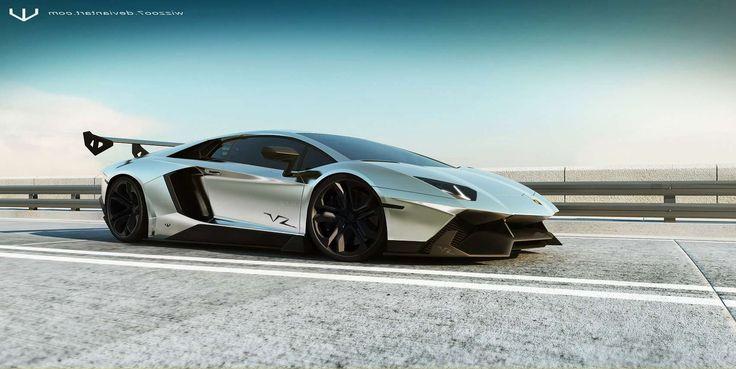Lamborghini Reventon Remote Control Model Rear Angle Open Door