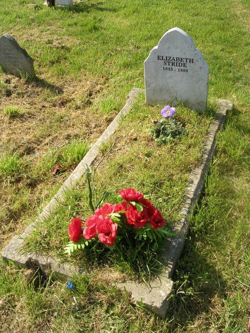 Cemeteries Ghosts Graveyards Spirits: Elizabth Stride's #grave, victim of Jack the Ripper.