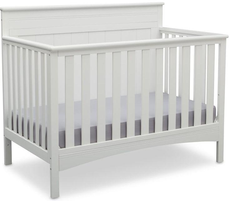 Fancy 4-in-1 Convertible Crib   Baby cribs convertible ...