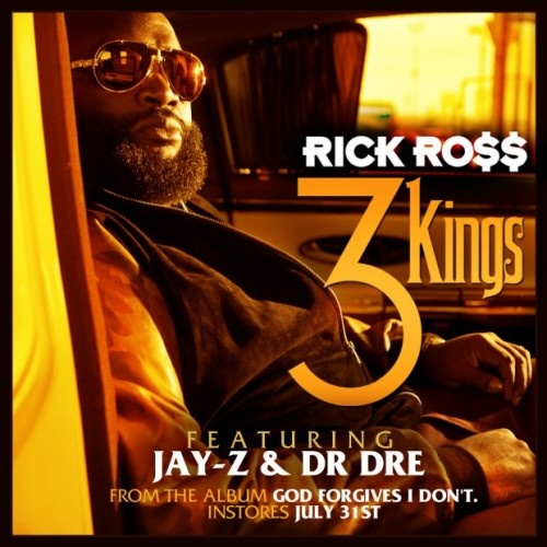 "Rick Ross follows up the release of his new single ""3 Kings"" by premiering the accompanying music video. It kicks off with a lot of footage narrating Dr. Dre's fast-rising career as the Doc spits out his verses. At one point, the rapper/producer is joined by a topless lady."