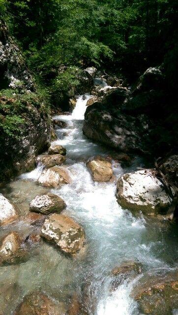 Tscheppa Gorge at Ferlach - Carinthia, Austria