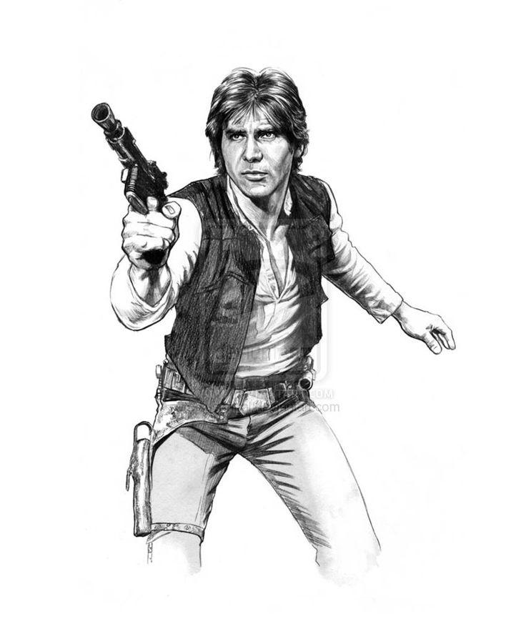 Star Wars - Han Solo by Jason Palmer