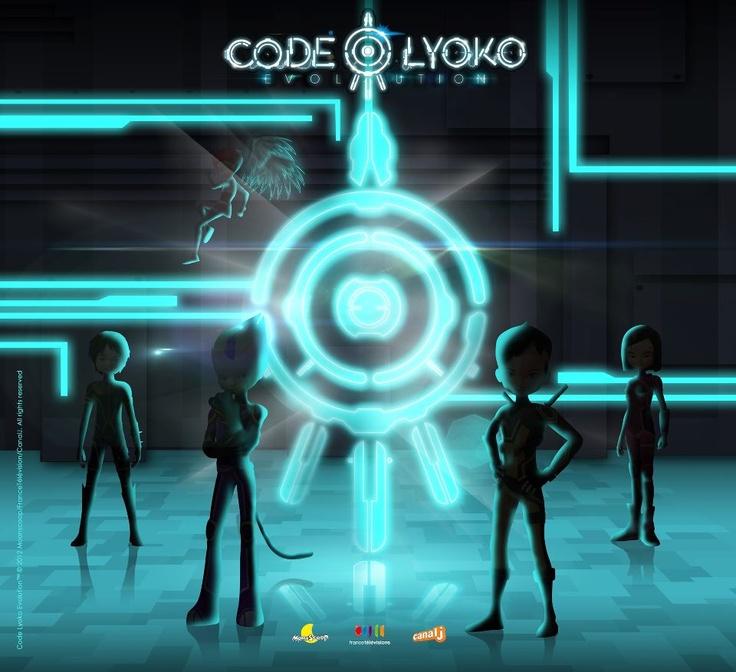 Conoces el afiche oficial de Código Lyoko: Evolución??? :D
