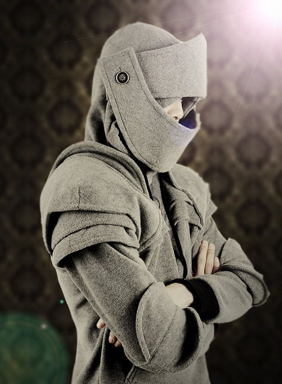 Duncan Armored Knight Hoodie100% Handmade Made To by iamknight