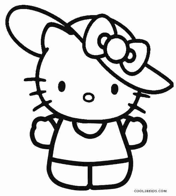 Realistic Cat Coloring Pages Unique Coloring Pages Kitty Hello Free Printable Hello Kitty In 2020 Hello Kitty Coloring Kitty Coloring Hello Kitty Colouring Pages