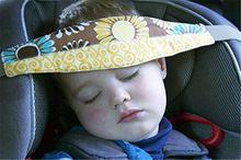 Infants And Baby Head Support Pram Stroller Safety Seat Fastening Belt Adjustable Playpens Sleep Positioner(China (Mainland))
