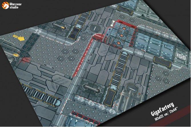 Gigafactory - wargame battle field
