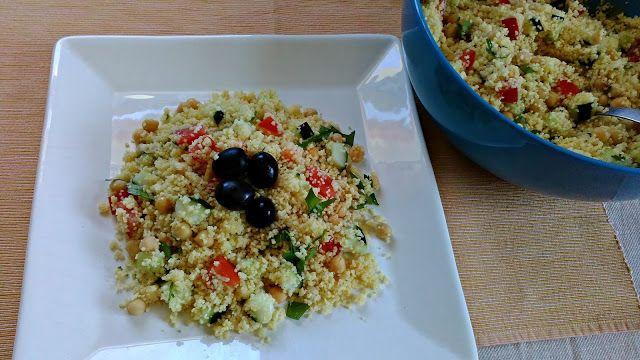 Da Panela para o Coração : Salada de couscous