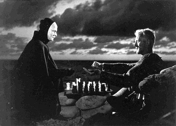 The Seventh Seal  One of the best ever. Visually and otherwise.  Changed my life.