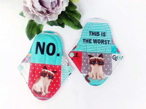 Thong/ G String menstrual pad cloth pad pick your by MyIndieKids