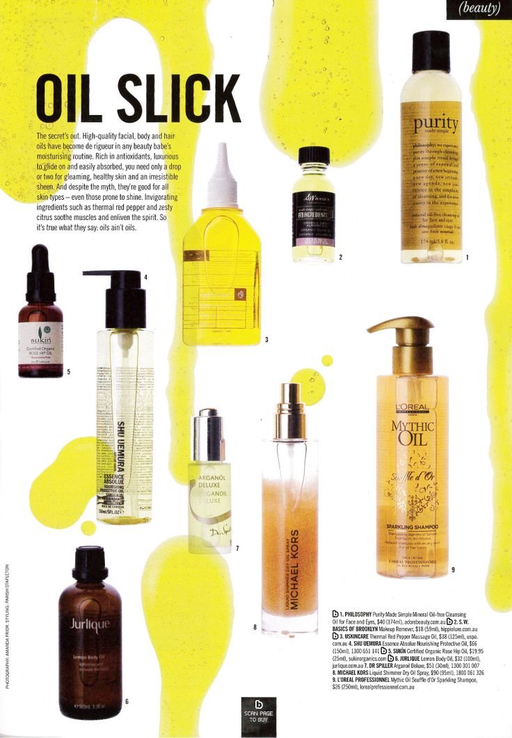 Sunday Style Feb 16, 2014  Sukin Rose Hip Oil features in 'Oil Slick'