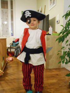 déguisement de pirates : versions IPkids