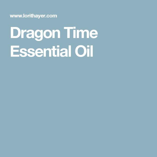 Dragon Time Essential Oil