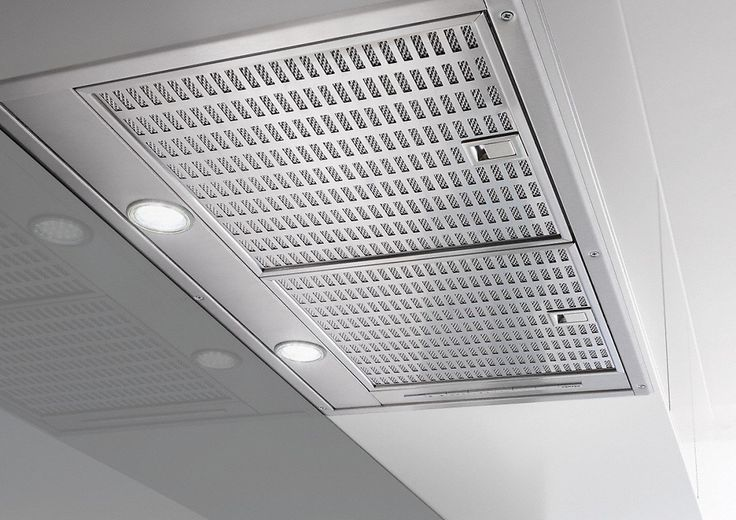 DA 2570 - Extractor unit with energy-efficient LED lighting and light-touch switches for easy use.--Stainless steel