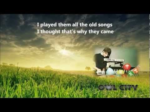 ♫ Owl City - Garden Party [Lyrics + Dwnld] 2012 - YouTube