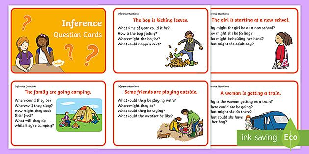 Inference Picture And Question Cards In 2021 Inference Pictures This Or That Questions Question Cards