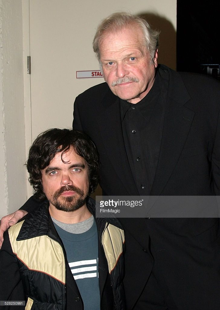 Peter Dinklage and Brian Dennehy during AUTOBAHN - Staged Readings of Five One-Act Plays to Benefit The MCC Theater at The Little Shubert Theater in New York City, New York, United States.