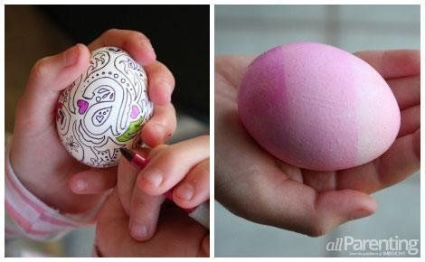 Tutorial on how to do these adorable Easter eggs.