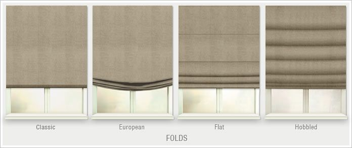 Roman Shades and Roman Blinds Discount at SelectBlinds.com